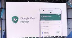 Google I/O 2017: система умной защиты Google Play Protect http://itzine.ru/news/tech/google-i-o-2017-google-play-protect.html  На конференцииGoogle I/O в2017 году также была представлена интересная система защиты—Google Play Protect. Рассчитывается она, понятное дело, на фирменный магазин дистрибьюции Android, ипризван навести там порядок… Относительный хотябы. Google Play Protect защитит исмартфон, имагазин Эта система будет использовать машинное обучения для анализа работы…