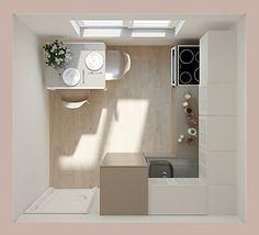 Как обустроить маленькую кухню в панельном доме: 5 эргономичных вариантов