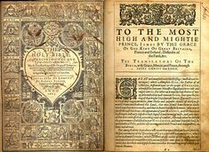King James Bible, 1611.  In January 1604, King James I convened the Hampton Court Conference where a new English version was conceived in response to the perceived problems of the earlier translations as detected by the Puritans, a faction within the Church of England.