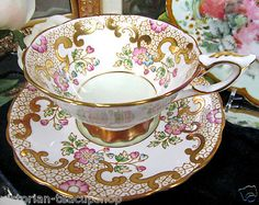 Royal Stafford Tea Cup....GORGEOUS