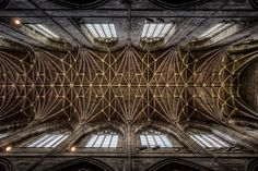 Chester Cathedral Ceiling (17x exposure HDR) by Mark Carline, via Flickr  http://arktetonix.com.br/2012/07/ark-texture-001/#