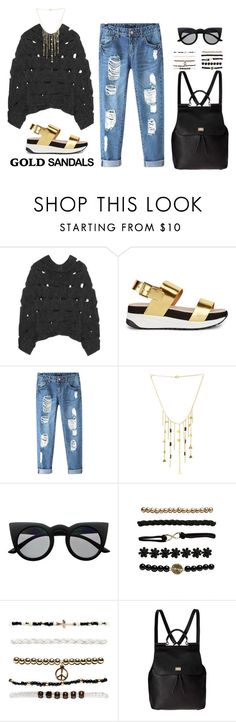 """I want to be a day time star"" by mediumgal ❤ liked on Polyvore featuring Junya Watanabe, KG Kurt Geiger, Chicnova Fashion, Retrò, Wet Seal, Dolce&Gabbana and modern"