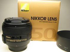 Nikkor 50mm 1.4G Lens