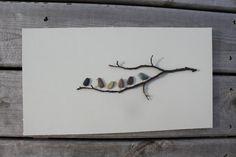 Arte della Nova Scotia da Sharon Nowlan del ciottolo di PebbleArt