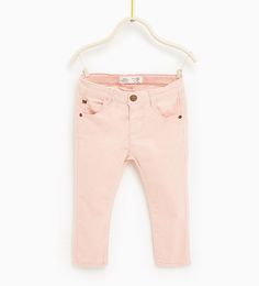 Basic corduroy trousers-SKIRTS AND TROUSERS-Baby girl-Baby | 3 years-KIDS | ZARA United States