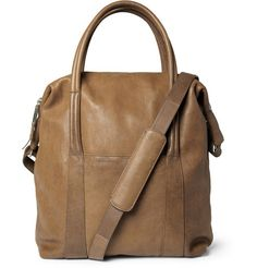 ++ leather tote bag