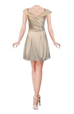 The Abigail Ivory Colour Dress - New Fashion 4u / London