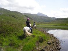 Highlands Unbridled - offering trail riding holidays in the Highlands, varying from 4-day to 15-day treks.
