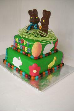 Easter cake chocolate