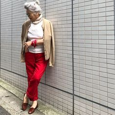Pin on 私のmadam Older Models, Advanced Style, Instagram, Suits, Womens Fashion, Clothes, Outfit, Outfits, Clothing