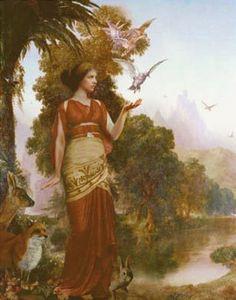 Деметра(Церера) -богиня живых растений,земледелия  ибо богиня природы.