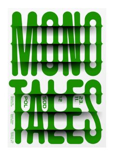 I chose this pull because I love the venetian blind effect the designer uses to give the type a three-dimensional look. The poster was created to reflect the underlining theme in the play, which was to shed light on some of societies infamous lies.