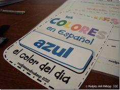 "Spanish ""Calendar Time"" printables. Best I've seen by far. ARR"
