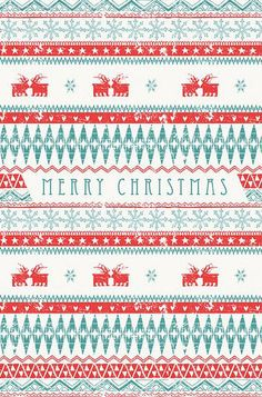 sweater pattern wallpaper - Christmas Sweater Wallpaper