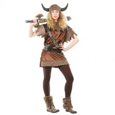 A Brute Female Viking Costume for Halloween and Carnival Parties! Carnival Costumes, Halloween Costumes, Carnival Parties, Halloween Makeup, Female Viking Costume, Star Wars Shop, Halloween 2016, Halloween Ideas, Viking Woman