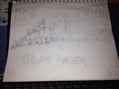 A little FanArt for Iron Maiden. ^.^ Drawn by Amberstar Anime