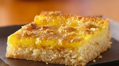 Looking for dessert bars using Betty Crocker® sugar cookie mix? Then check out this recipe based on the classic crème brûlée dessert.