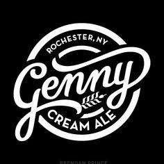Beautiful Logotypes and Lettering Styles by Brendan Prince Typography Letters, Typography Logo, Logo Branding, Branding Design, Beer Logo Design, Lettering Styles, Lettering Design, Logo Inspiration, Type Logo