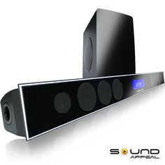 """8"""" Soundbar for TV with Wireless Subwoofer"""