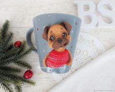 Купить Кружка Пёс в интернет магазине на Ярмарке Мастеров