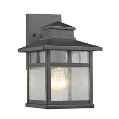 Found it at Wayfair - Breunor 1 Light Outdoor Wall Lantern