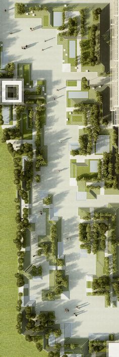 The project describes a landscape design and facade design for a residential development in Hyderabad / India and introduces a green and ecological design for the city. It combines traditional Indian elements like Indian Step-wells and Indian Mazes into t…: