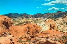 Overlooking Valley Of Fire  :at http://robert-bales.artistwebsites.com/