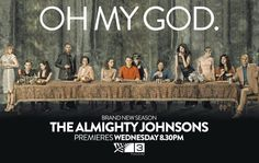 The Almighty Johnsons  Oh My God, best theme song ever!