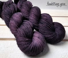 Your place to buy and sell all things handmade Sts 1, Plum Purple, 2 Ply, Hand Dyed Yarn, Voodoo, Neutral Colors, Just For You, Sparkle, Socks