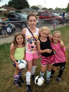 My soccer girls