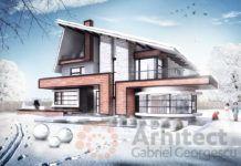 Casa cu etaj 64 Design Case, Home Fashion, Stairs, Mansions, House Styles, Lazy Susan, Furniture, Nooks, Home Decor