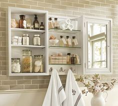 Modular Wall Storage | 1/2 bath