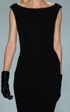 Cachemire little black dress