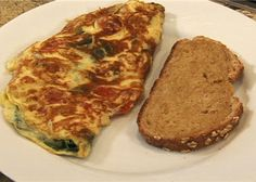 Spinach, Tomato, and Cheese Omelet.This dish is great for a pregnant woman and her developing baby. It's rich in protein and laced with vitamins A and C, folic acid, and magnesium. - See more at: http://www.bmhvt.org/eating-healthy/spinach-tomato-cheese-omelet#sthash.MAChAqlR.dpuf