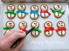 Snowman Party Treats | The WHOot