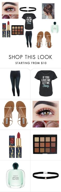 """""""Untitled #64"""" by jasmine-porch ❤ liked on Polyvore featuring M&Co, LC Trendz, Morphe and Amanda Rose Collection"""