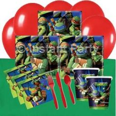 Teenage Mutant Ninja Turtle Classic Party Pack