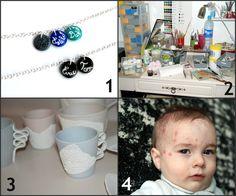 Une semaine à l'atelier: les bracelets prénom, une jolie idée à retenir pour la fête des mamans......
