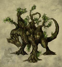 °Sklao - Tree Dragon by Spikulec