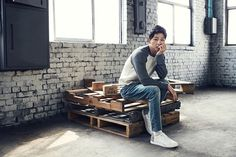 For all of us suffering from lack of Song Joong Ki, TOPTEN continues to share his smexiness with us: here he's showing off some of their F/W line. We're patiently waiting for him to ret… Descendants, Song Joong Ki Photoshoot, 2016 Songs, Oh Yeon Seo, Song Joon Ki, Descendents Of The Sun, Sungkyunkwan Scandal, A Werewolf Boy, Perfect Boyfriend