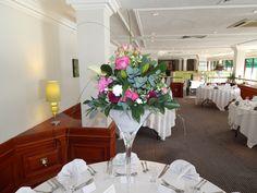 Large Martini vase-Holiday Inn Hull Marina.