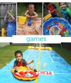Water Games - summer fun activities