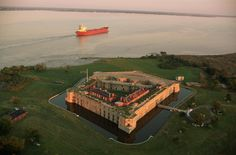 FORT DELAWARE  Delaware City  Reported to be haunted