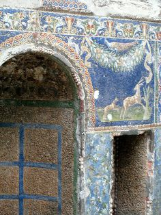 Detail, alcove in the nymphaeum, House of Neptune and Salacia/Amphitrite, Herculaneum
