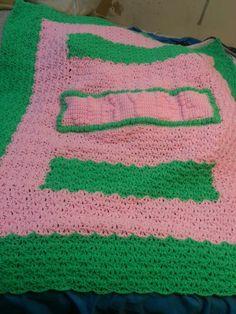 Baby Jayde's blanket