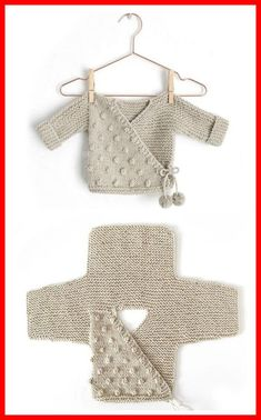 Kimono Jacket - Free Pattern (Beautiful Skills - Crochet Knitting Quilting) - K., anleitungen kostenlos baby jacke Kimono Jacket - Free Pattern (Beautiful Skills - Crochet Knitting Quilting) - K. Baby Knitting Patterns, Knitting Stitches, Baby Patterns, Free Knitting, Crochet Patterns, Crochet Ideas, Kids Knitting, Crochet Tutorials, Free Sewing