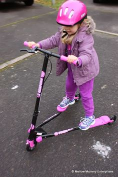 YVolution Y Fliker Air A3 Scooter ... Curves and drifts from age 5 upwards