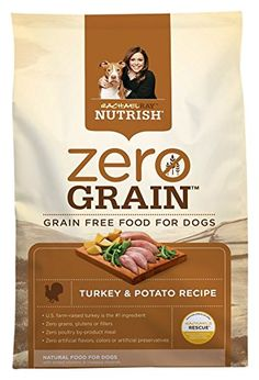 Rachael Ray Nutrish Zero Grain Natural Dry Dog Food Turkey  Potato Recipe Grain Free 6 lbs >>> Find out more about the great product at the image link.