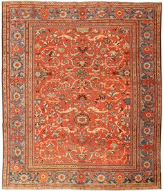 Antique Sultanabad Persian Rugs 43458 Main Image - By Nazmiyal