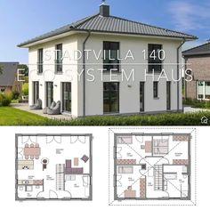 5 Bedroom House Plans, Family House Plans, Dream House Plans, Small House Plans, House Floor Plans, Flat House Design, Minimal House Design, Cool House Designs, Model House Plan
